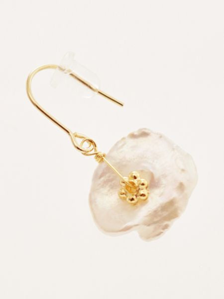 Pearl Flower Earrings-Ametsuchi