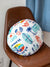 Vintage Surf Round Cushion