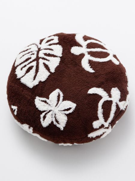 MONSTERA & HONU Round Cushion