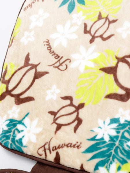 HONU & PLUMERIA Car Sheet Cushion