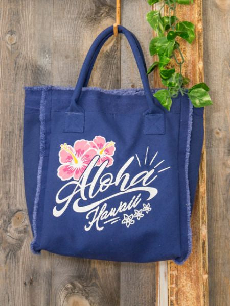 Colorful ALOHA Mini Tote Bag