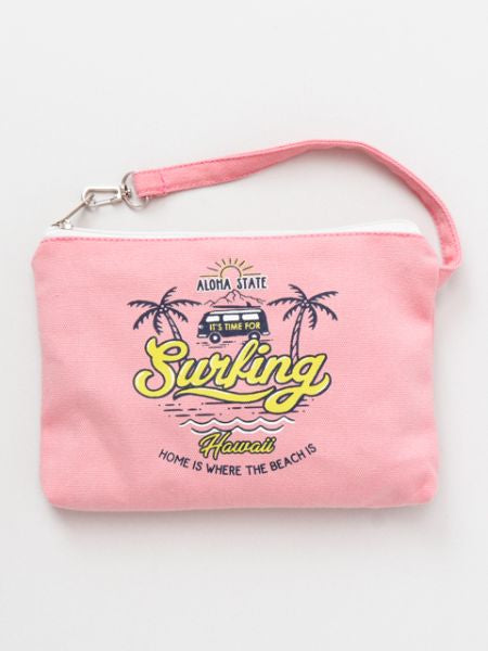 Colorful ALOHA Pouch