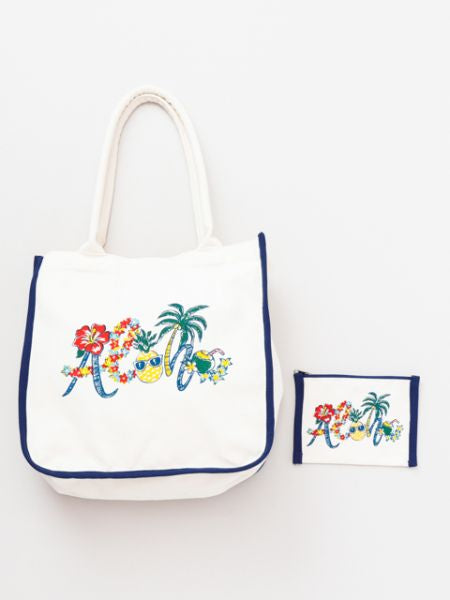 ALOHA Art Tote & Pouch Set of 2