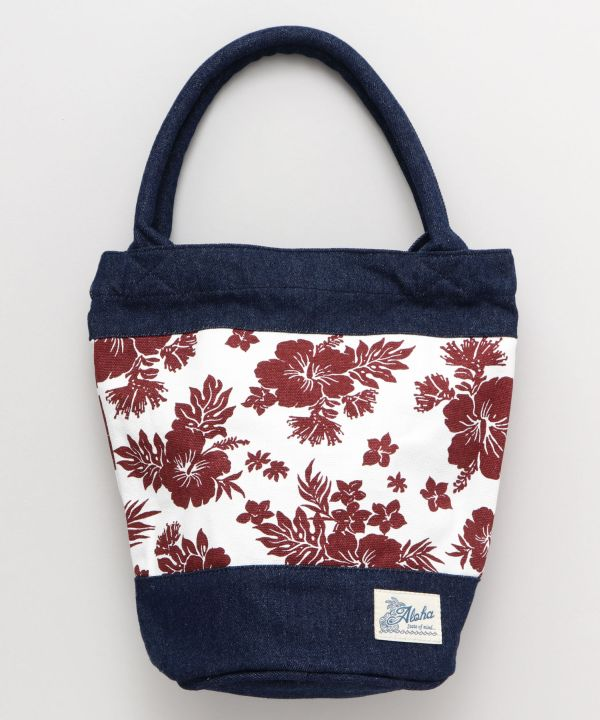 Mahalo Denim Bucket Bag