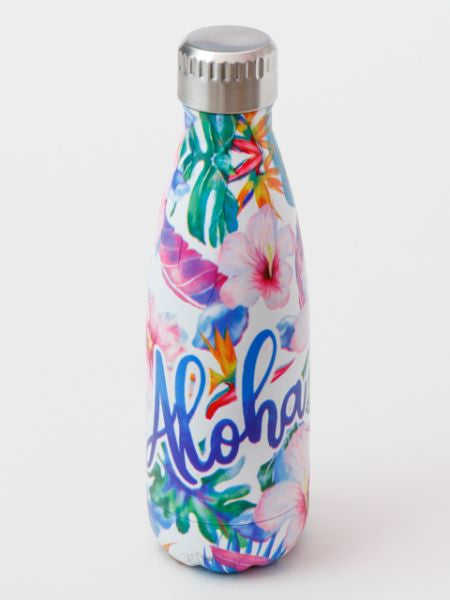 Botanical Pattern Stainless Steel Bottle