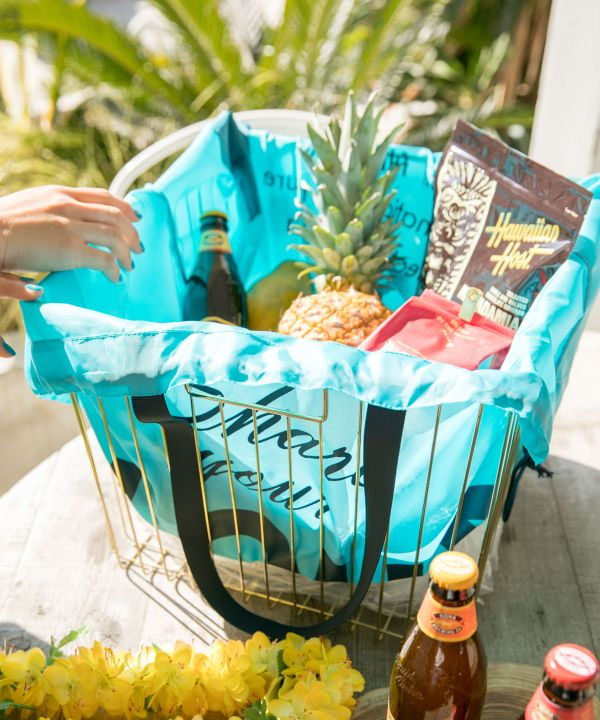ALOHA Packable Shopping Bag-Ametsuchi