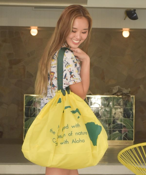 ALOHA Packable Shopping Bag