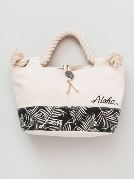 Aloha Rope Handle Tote Bag-Ametsuchi