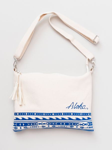 Aloha Shoulder & Clutch Bag-Ametsuchi