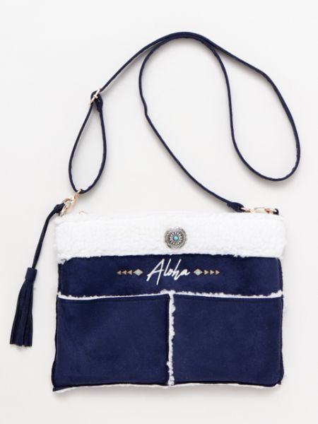 ALOHA Boa Mouton Shoulder Bag