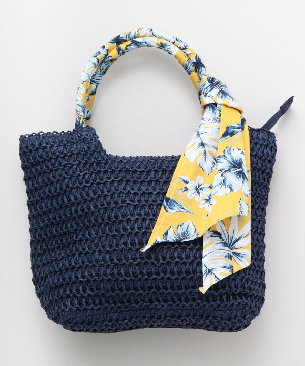 Paper Knit Hand Bag