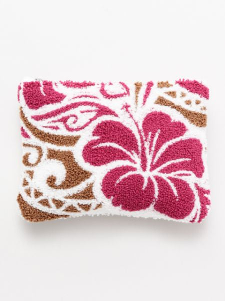 Hawaiian Chenille Embroidery Pouch-Ametsuchi