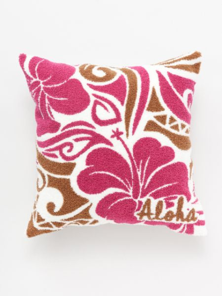 Hawaiian Chenille Embroidery Pillow Case-Ametsuchi
