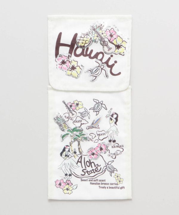 Porte-papier hygiénique à paillettes Hawaiian Breeze