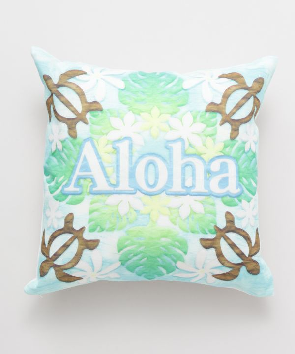 Hawaiian Quilt Pattern Pillow Case-Ametsuchi