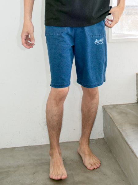 Surf Sweat Shorts-Pants & Shorts-Ametsuchi