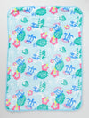 Honu Fleece Throw S Saiz-Bed Linens-Ametsuchi