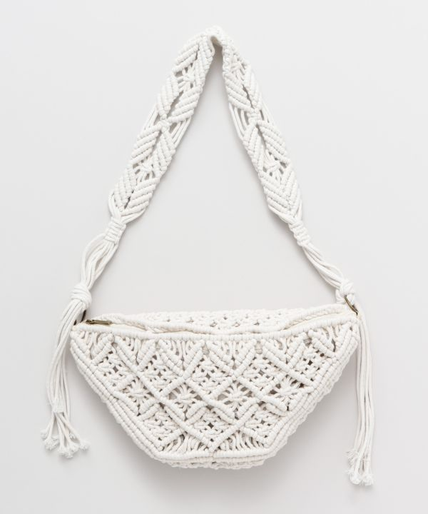 MACRAME One Shoulder Bag