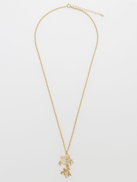 Gold Honu Necklace