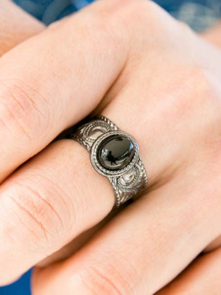 Oval Charm Ring-Ametsuchi