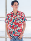 히비스커스 Men's Hawaiian Shirt-Ametsuchi