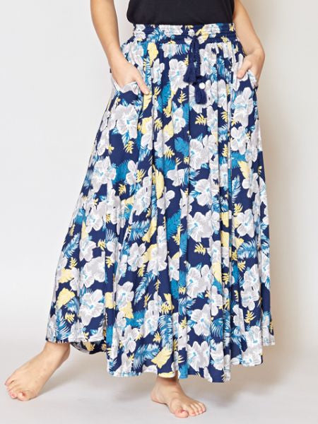 HIBISCUS Long Skirt