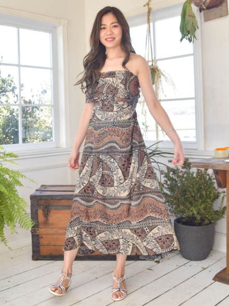Tribal Pattern Sash Skirt