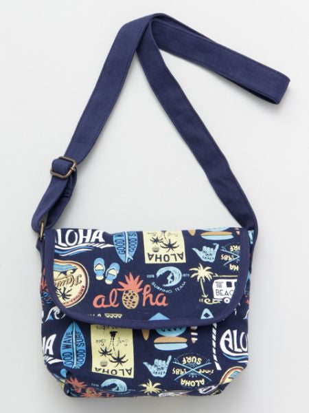 Tas Bahu Motif Pop Antik Hawaii-Ametsuchi