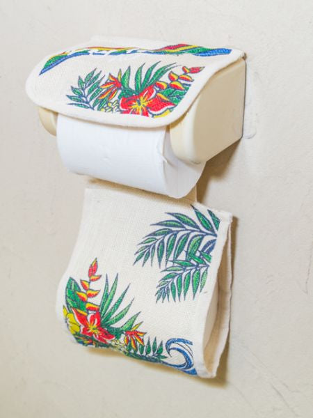 Hawaiian Jute Toilet Paper Holder-Ametsuchi