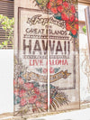 Classic Hawaiian Jute NOREN Curtain