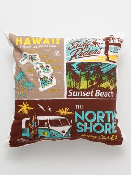 Comic Aloha Cushion Cover