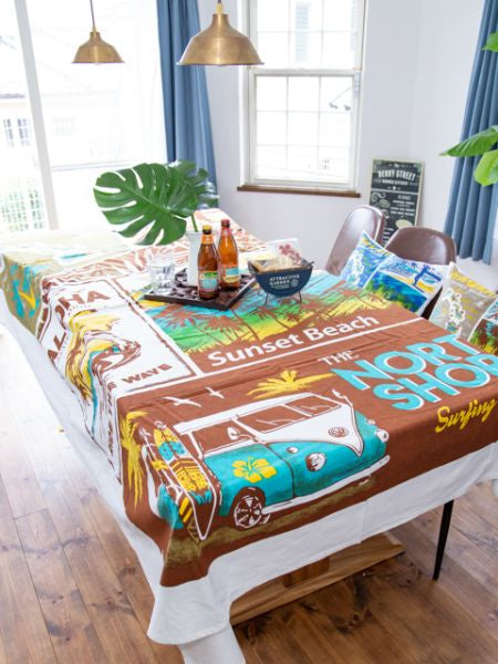Comic Aloha Multi Cloth Bed Cover