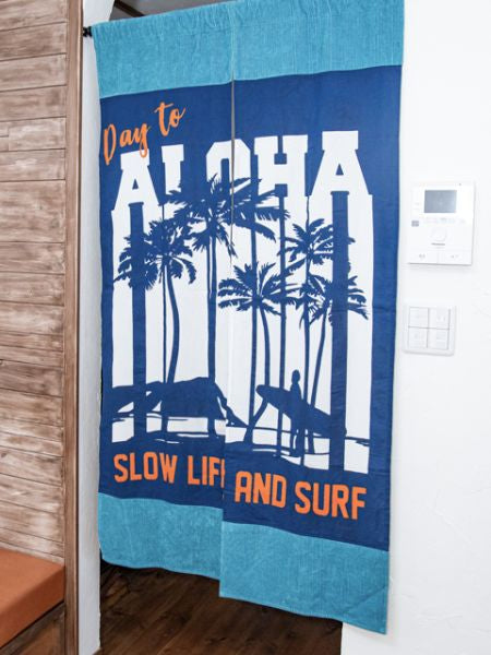 Corduroy ALOHA NOREN Door Curtain