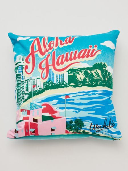 Sarung Bantal Pemandangan Hawaii