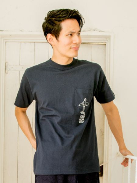 Sufer Chest Pocket Camiseta de hombre L-Ametsuchi