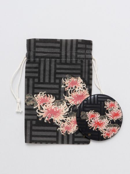 KAKI-ZU Print Compact Mirror-Others-Ametsuchi