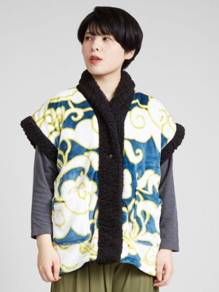 Floral YAKKO Room Vest-Others-Ametsuchi