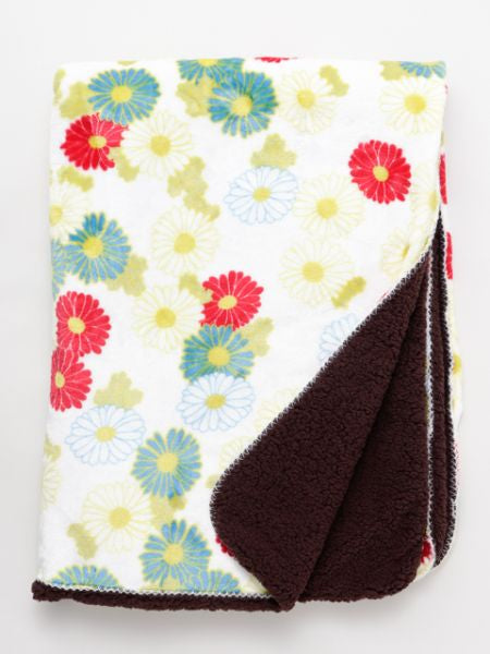 Floral Throw M-Bed Linen-Ametsuchi