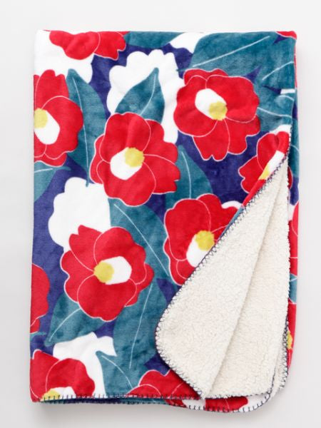 Floral Throw M-Bed Linens-Ametsuchi