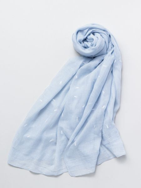 Pine Leaf Printed Stole-Ametsuchi
