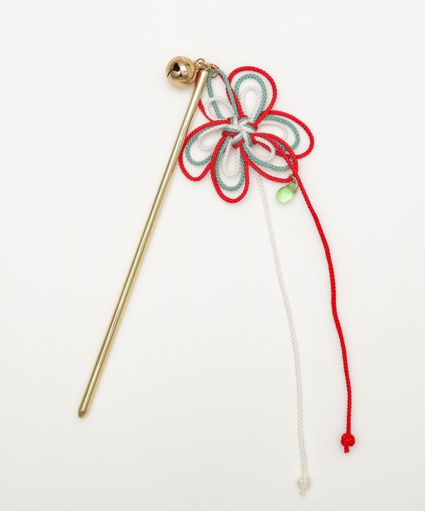 Braid Flower KANZASHI Hair Stick