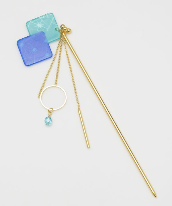 Layerd KIRIKO Hair Stick