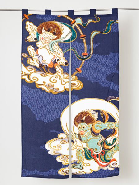 UKIYOE NOREN Door Curtain-Home Decor-Ametsuchi
