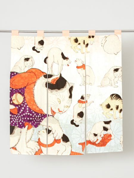 UKIYOE NOREN Door Half Blind Curtain-Home Decor-Ametsuchi