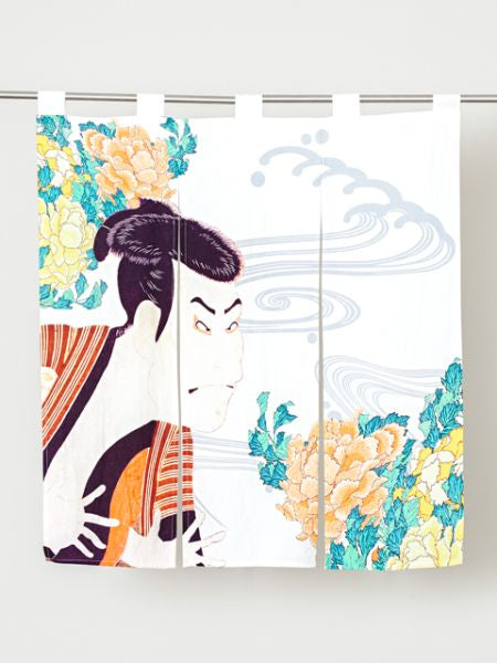 UKIYOE NOREN Door Half Blind Curtain