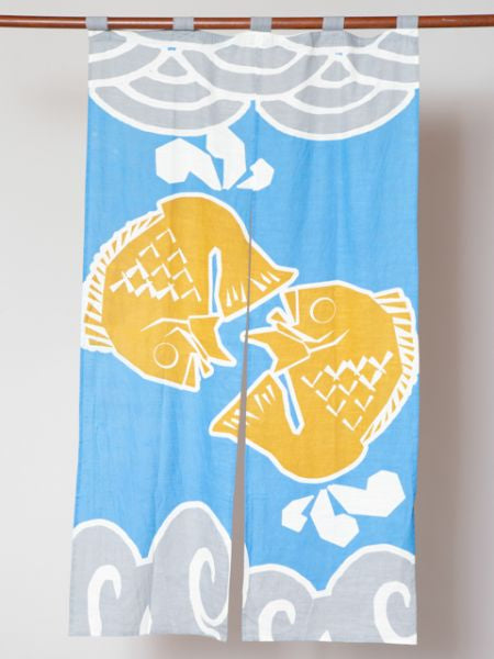 TAI Fish NOREN Door Curtain