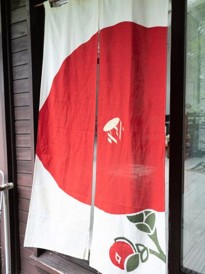 Modern Japanese Design NOREN Door Curtain-Ametsuchi