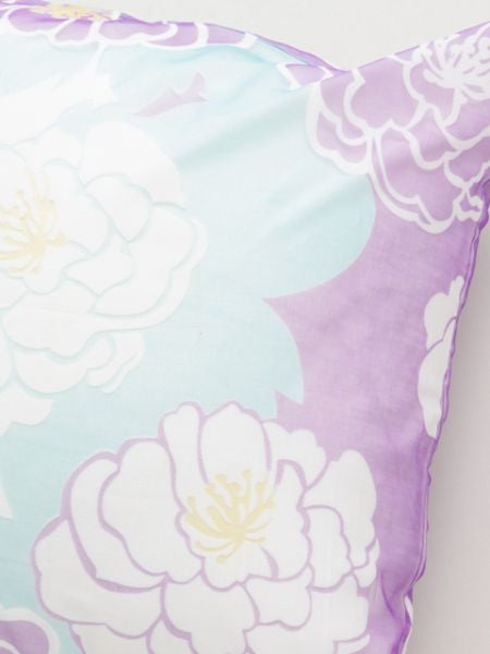 Peony Pattern Pillow Case