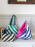Colorblock Stripe Tote Bag