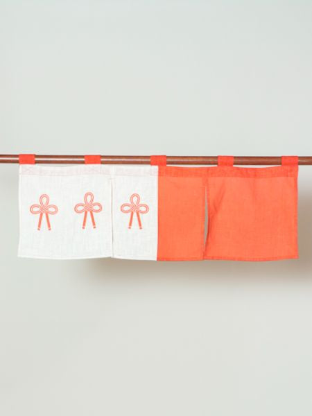 Celebration MIZUHIKI Knot NOREN Cafe Curtain-Home Decor-Ametsuchi